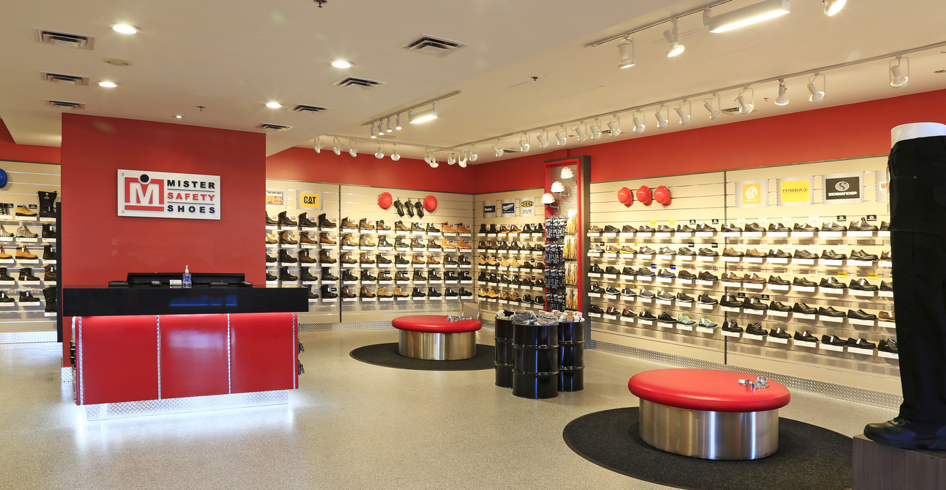 Online safety shoes shopping